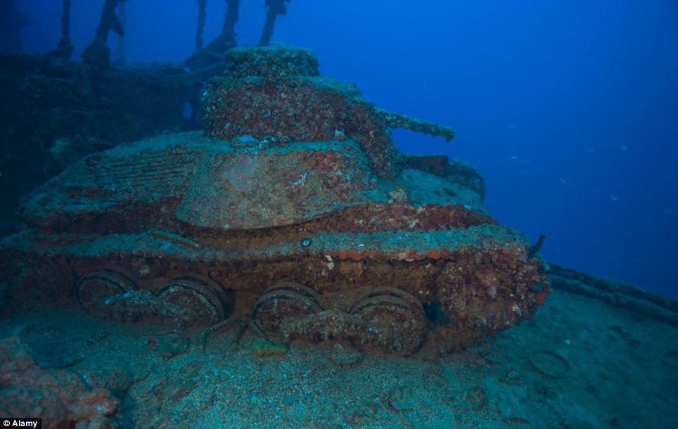 Публикация: кладбище затонувших кораблей.