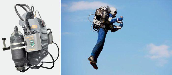 Видеоблогер без опыта полётов протестировал реактивный ранец