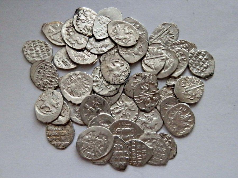 Московские клады серебряная монета австрия 2 лата 1925