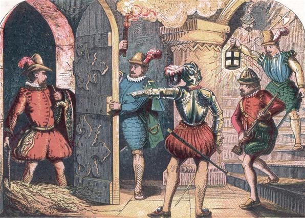 the history of the gunpowder plot of 1605
